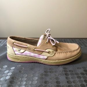Sperry Top Sider ladies leather boat shoes